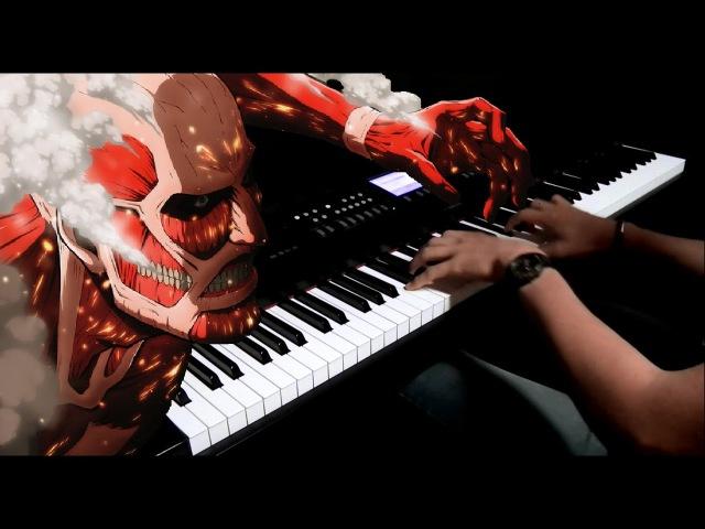 Shingeki no Kyojin Season 2 ED Yuugure no Tori Piano Cover