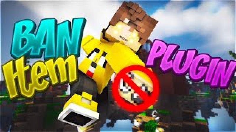 Plugin BanItem for Minecraft Pe | PocketMine | MCPE || HelShow