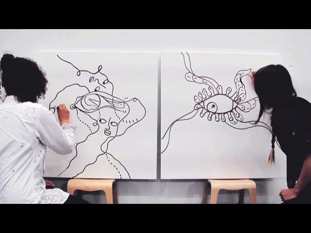 SOUGWEN CHUNG X SHANTELL MARTIN The Drawing Sessions Part Two