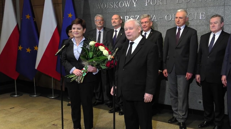 2017-03-11 Jarosław Kaczyński - Jestem osobiście dumny z Premier Beata Szydło