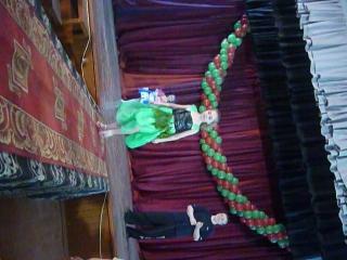Костюм мисс №2  Зеленая фея