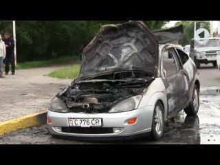 Причины возгорания авто / Утренний эфир