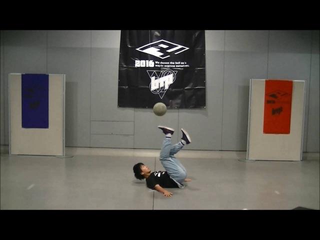 Showcase04 ko-suke [Freestyle Football] F4×btp-2016 北海道大会in札幌