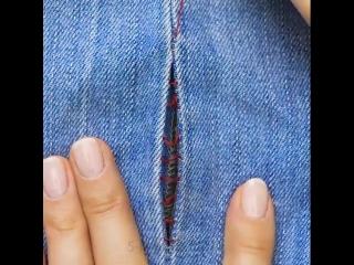Ремонт одежды своими руками