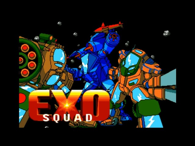 Exosquad. SEGA Genesis. Walkthrough