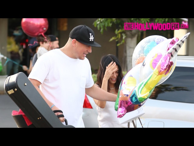 Channing Tatum Celebrates His 37th Birthday With Jenna Dewan At Pinz Bowling Alley 4.26.17
