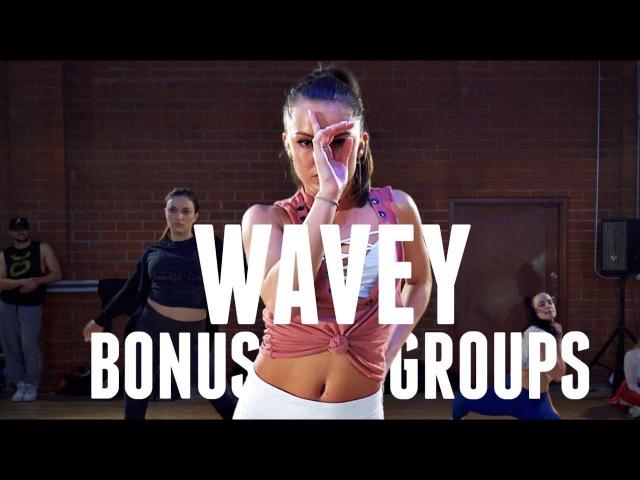 Wavey Bonus Groups CliQ feat Alika Brian Friedman Choreography TMillyTV