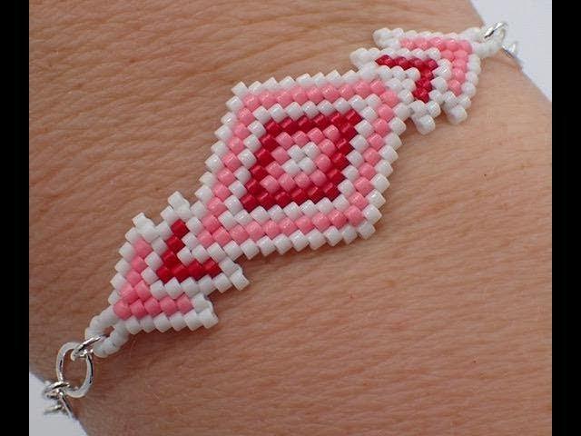 Brick Stitch Diamond Bracelet Must Know Monday 1 15 18