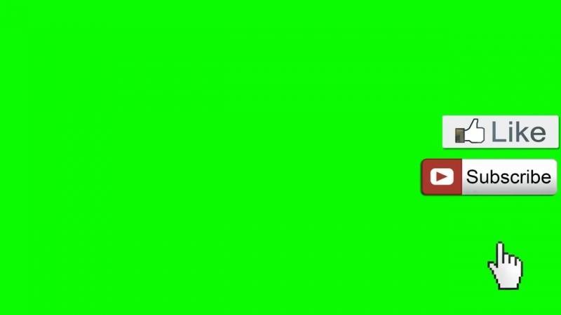 Лайк и подписка Футаж на зелёном фоне 1080p как у варпача mp4