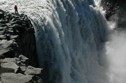 Деттифосс (Dettifoss) — самый мощный водопад в Европе, изображение №5