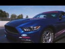 2018 Cobra Jet Mustang Drag, Burnout and Awesome Revs