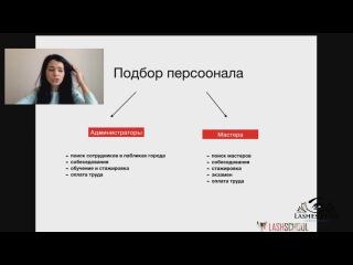 Виктория Безпаленко выступает для Бьютиконгресса