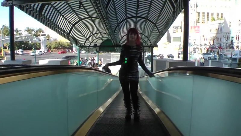 Industrial Dance in Las Vegas - Tank9 MaryQuiteContraryy