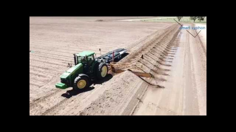 Smart Syphon Automating Flood Irrigation Farms AUS