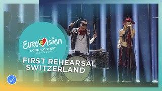 ZiBBZ - Stones - First Rehearsal - Switzerland - Eurovision 2018