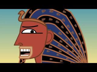 Часть 7. Третья казнь египетская. Ветхий завет в мультиках Нины Пэлей (проект Ceder Mazochizm).