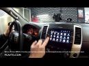 Nissan Xterra 2013 установка магнитолы на Android и переподключение штатной камеры заднего