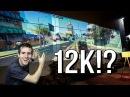 12K Triple Projector Gaming Setup!