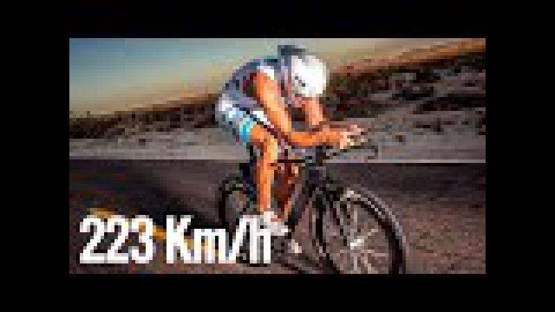 223 Km h in Bicicletta Cose strane nel mondo e ciclismo estremo