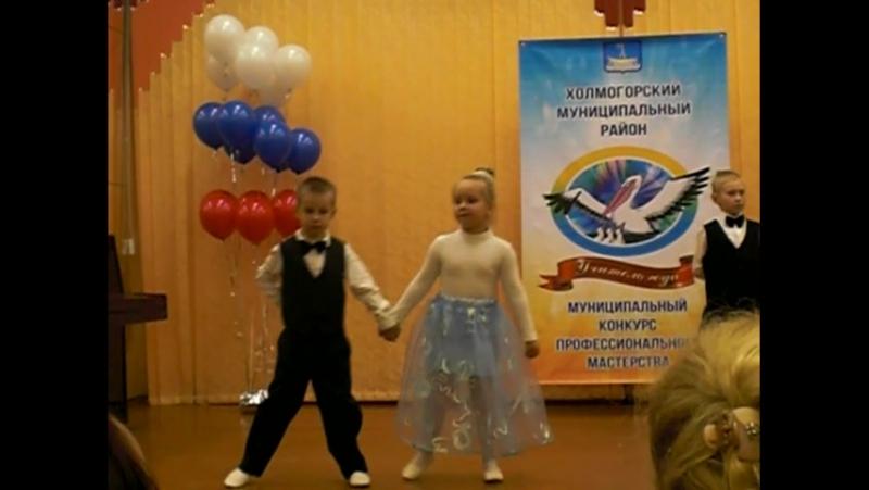 Вальс начальной школы. Луковецкая СШ. 13.12.17.