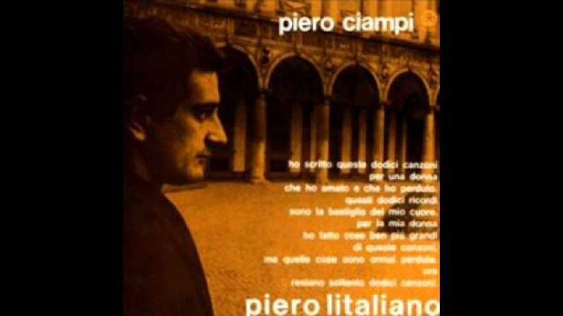 Piero Ciampi Il tuo ricordo