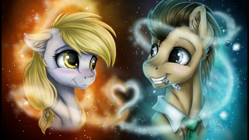 Speedpaint MLP Lovers trought time and space