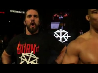 Seth Rollins & Jason Jordan enter Madison Square Garden