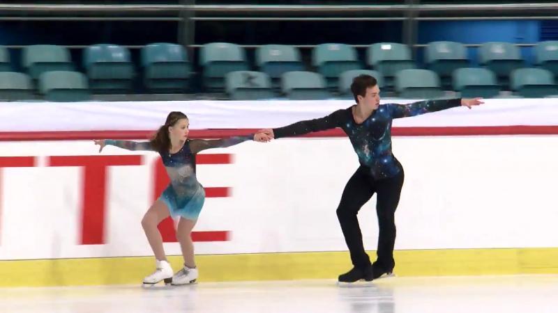 Daria KVARTALOVA Alexei SVIATCHENKO RUS Pairs Free Skating Zagreb 2017