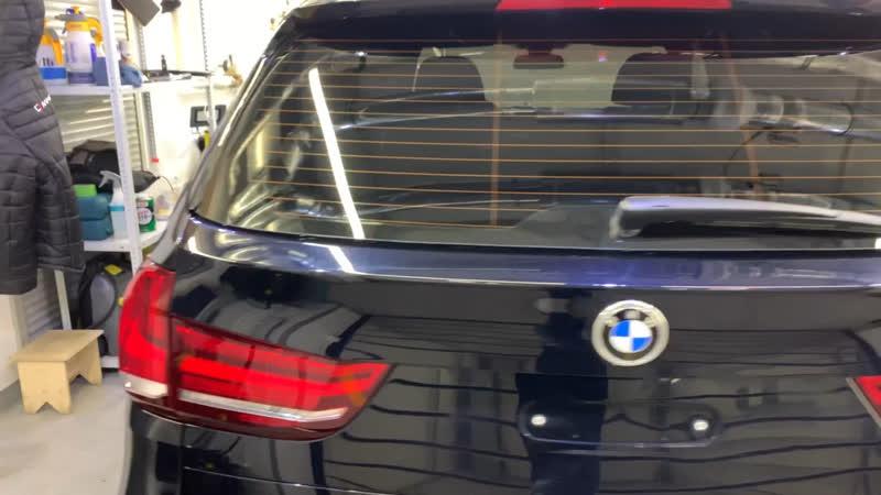 BMW X5 полировка кузова защита