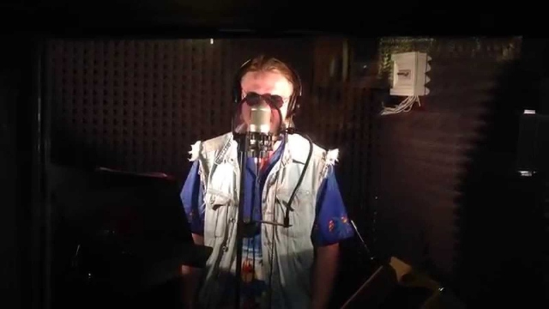 Bloody Opression - vocals recording session 2