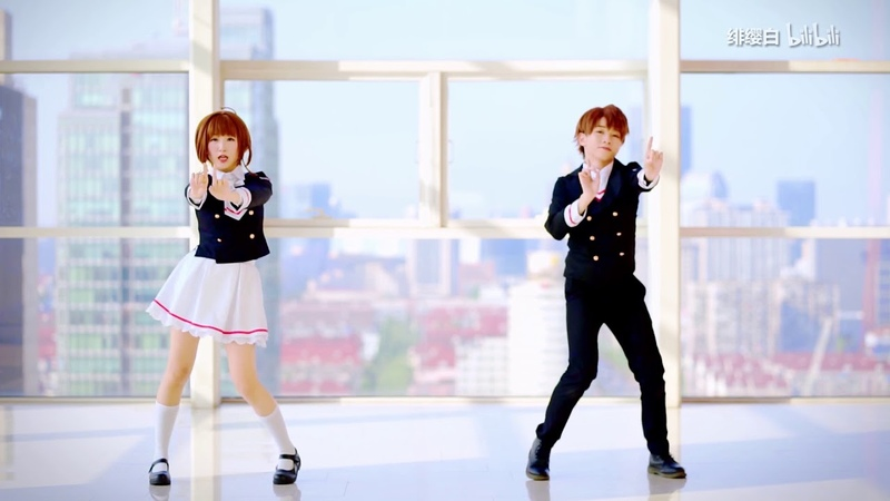 【绯桜白x楽歌】❀カードキャプターさくらOP❀Clear【オリジナル振り付け】