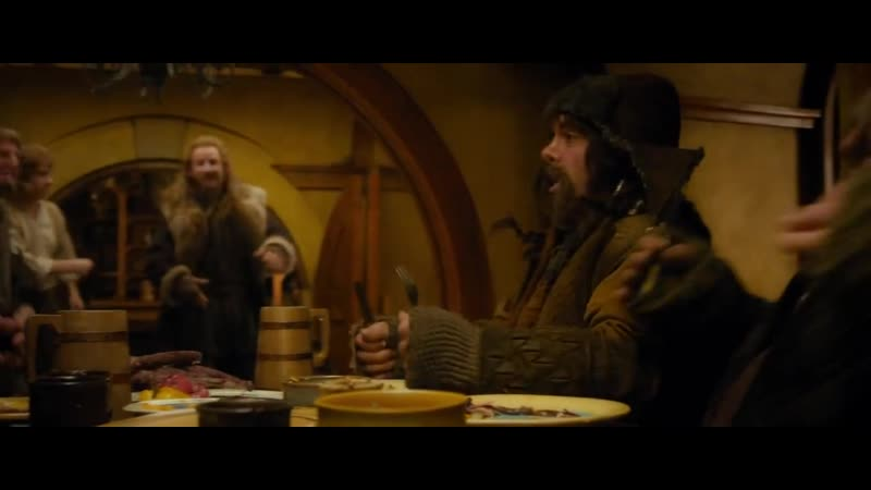 Hobbit Blunt The Knives (rus)! HD _ Хоббит Нож тупи, ложки гни (rus)! HD