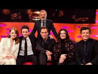 The Graham Norton Show HD S25E05 Jude Law, Melissa McCarthy, Eddie Redmayne, Emma Stone, Rick Astley