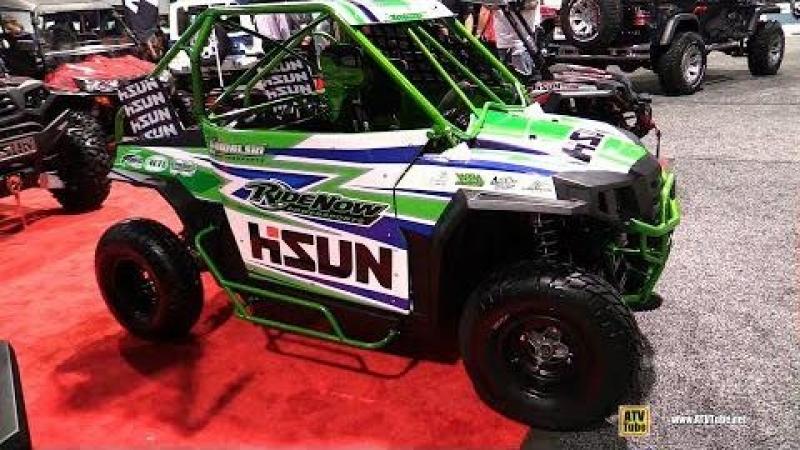 2017 HiSun Strike 250 Youth Race ATV Walkaround 2017 SEMA Las Vegas