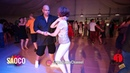 Mario Hazarika and Mariya Gavrikova Salsa Dancing in Malibu at The Third Front 2018 Sun 05 08 2018