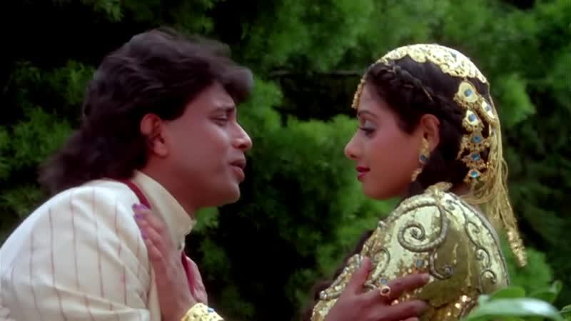 4 Tu Bhi Bekaraar - Mithun, Srdevi - Waqt Ki Awaz - Songs - Mohd. Aziz
