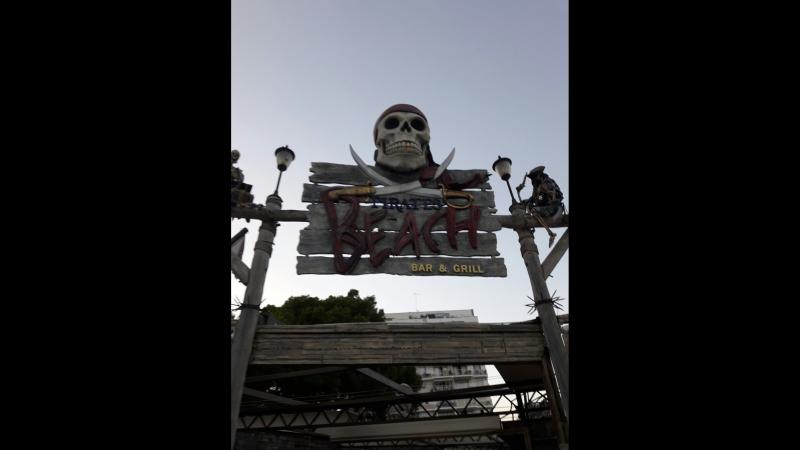 шоу пиратов в Испании 2016