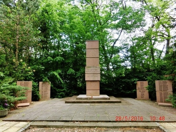 Кладбище Советских воинов в Beelitz 28 05 2016года