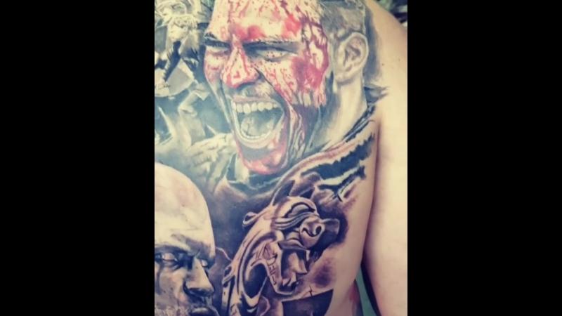 Tattoo by Diego Sebastian Moyano