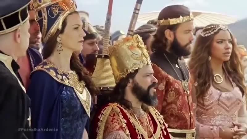 Седрах Мисах и Авденаго не поклонились истукану Библейская история