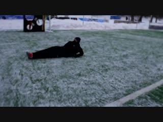 ШОУ ЛАКЕРА САМЫЙ МЕТКИЙ УДАР на СНЕГУ vs. EVONEON / -18 градусов!