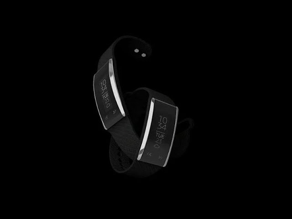 Fastrack Reflex WAV The world's thinnest fitness bracelet with gesture control