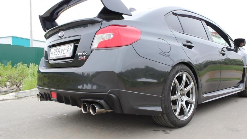 Subaru WRX S4 turbo-back exhaust