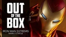 Iron Man Extremis Mark II Statue Unboxing
