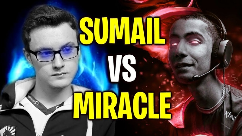 MIRACLE vs SUMAIL in Solo MMR - Intense Midlane Battle Dota 2
