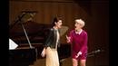 Soprano Tamara Banješević Chris Reynolds piano Juilliard Joyce DiDonato Vocal Arts Master Class
