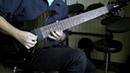 Ibanez RG8 8 Strings Demo (Lead)