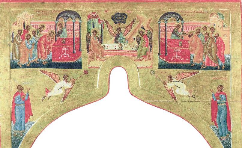 Надвратная сень. Конец 16 века. СИХМ, ин № 252 ДРЖ.