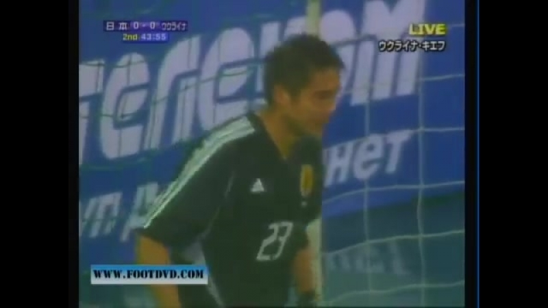 Ретро дня. Як Україна перемогла Японію у 2005 році завдяку голу Андрія Гусіна
