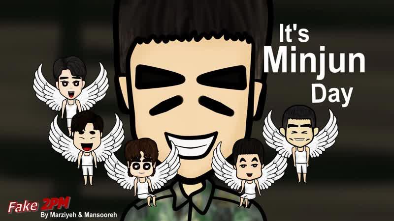 Fake 2PM - Its Minjun Day